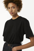 The Victoria Tee in Black