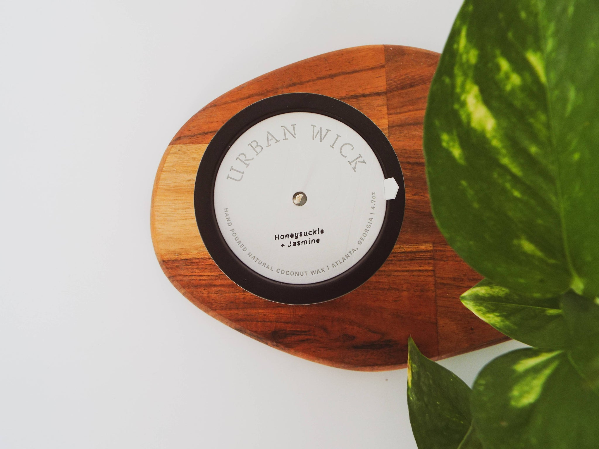 Honeysuckle and Jasmine Travel Candle by Urban Wick by Cait + Co