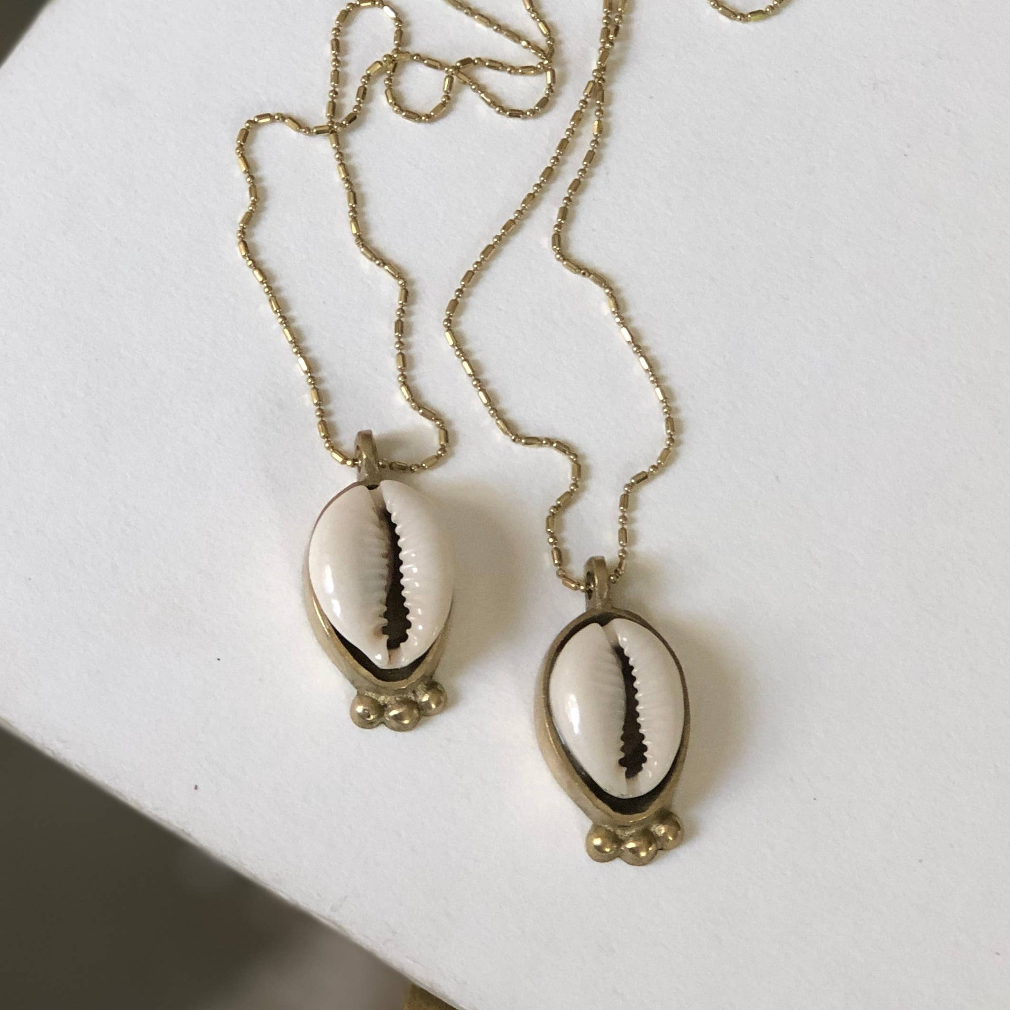 Cowrie Shell Necklace by Boho Gal Jewelry