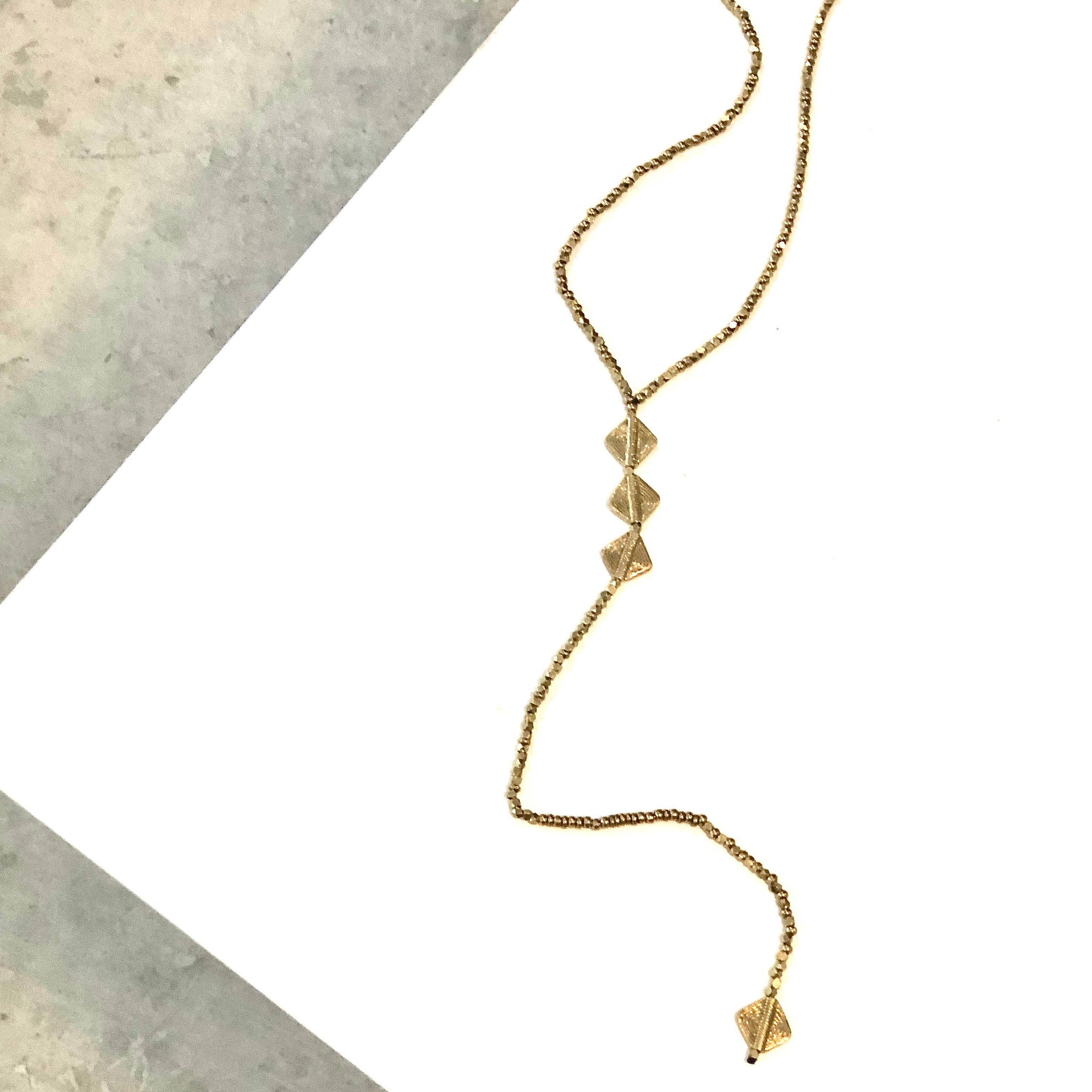 "Boho Gal Jewelry - Efah ""Y"" Necklace"