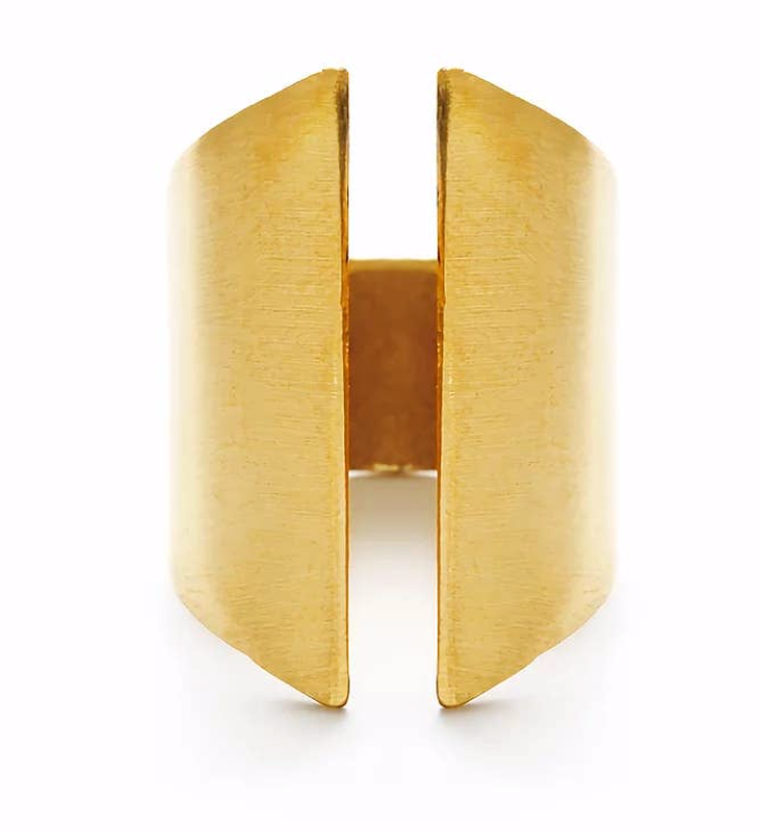 Structure Brass Ring by Mind's Eye Design