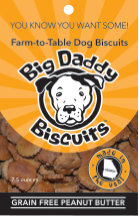 Dog Biscuits - Non-grain Peanut Butter
