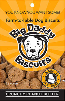 Dog Biscuits - Crunchy Peanut Butter
