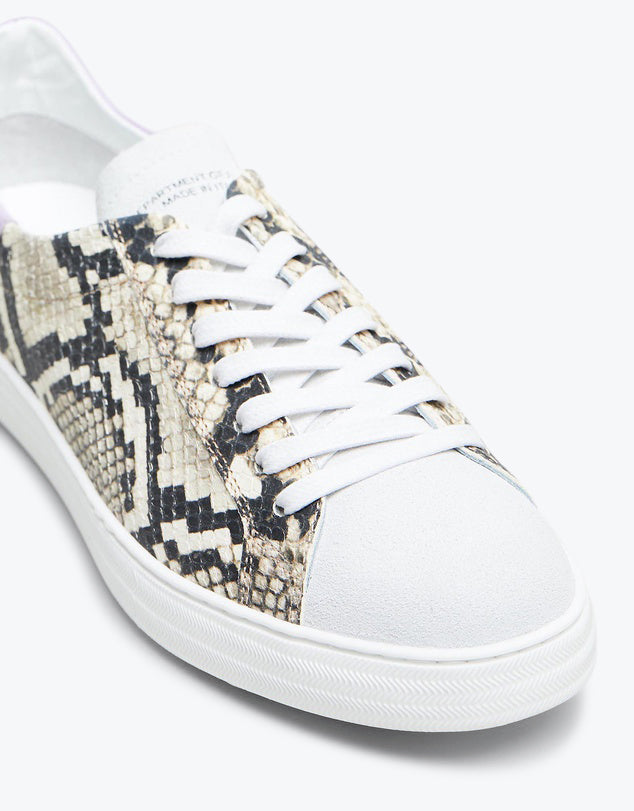 Indiana - Snake Print Leather