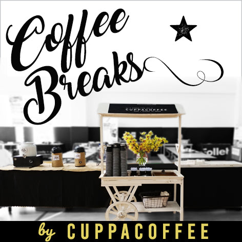 COFFEE BREAKS by CUPPACOFFEE