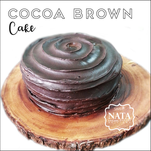 Cake - Cocoa Brown