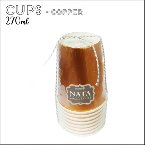 Cups - Copper (8pcs)