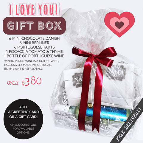 GIFT BOX - I Love You! - (ORDER 2 DAYS IN ADVANCE)