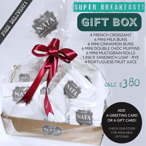 GIFT BOX - Super Breakfast -(ORDER 2 DAYS IN ADVANCE)