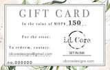 GIFT CARD: ID CORE
