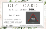 GIFT CARD: URBAN TRIBE