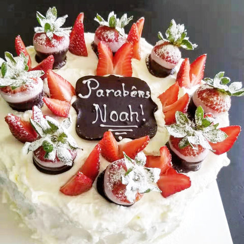 Strawberry Delight Cake