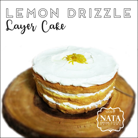 Layer Cake - Lemon Drizzle