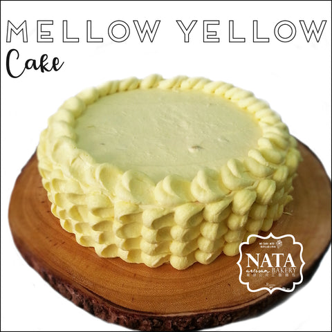 Cake - Mellow Yellow
