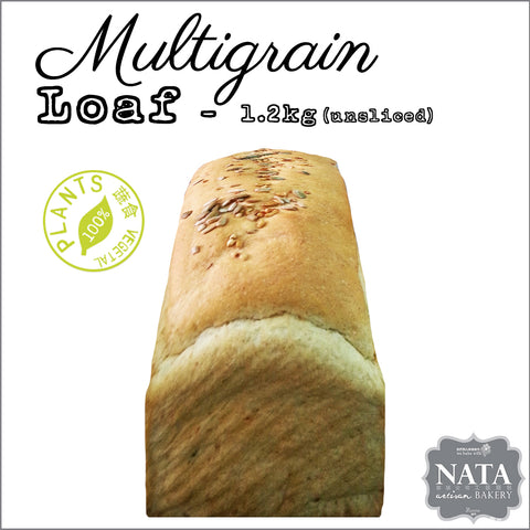 Sandwich Loaf - multigrain - unsliced - 1.2kg