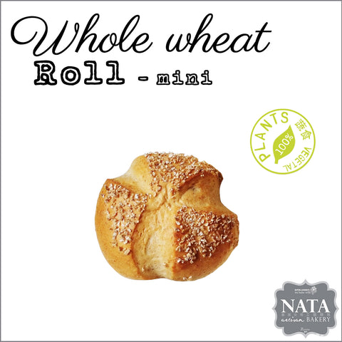 Whole wheat roll - mini