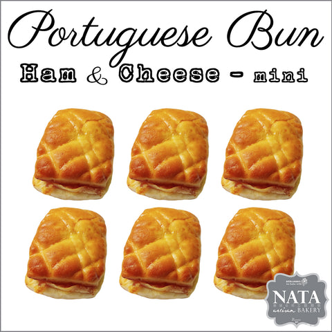 Mini Portuguese Ham & Cheese Bun (6 pcs.)