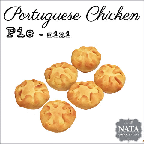 Mini Portuguese Chicken Pie (6 pcs.)