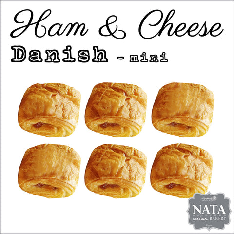 Mini Ham & Cheese Danish (6 pcs.)