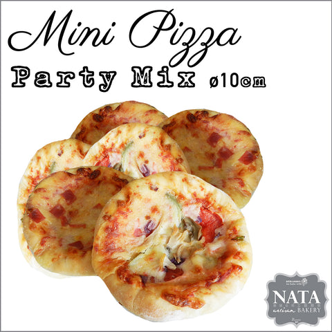 Mini Pizza - Party Mix - 10pcs