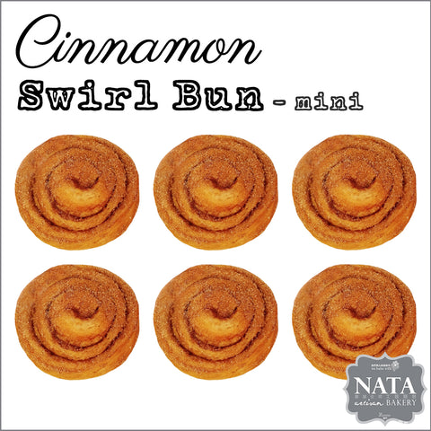 Mini Cinnamon Swirl Bun (6 pcs.)