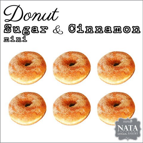 Mini Donut - Sugar & Cinnamon (6 pcs.)