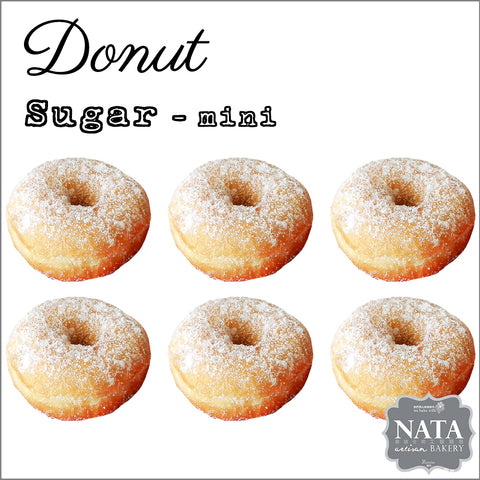 Mini Donut - Sugar (6 pcs.)