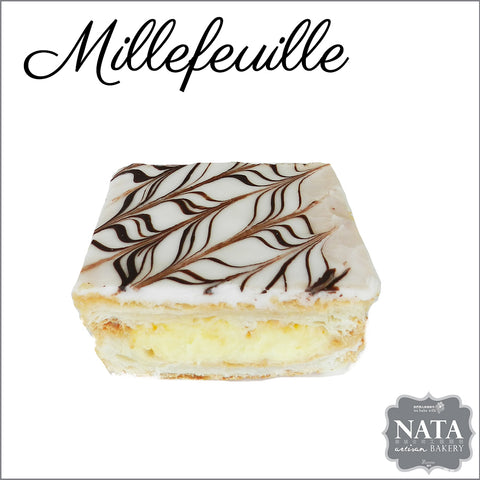 Millefeuille  千層酥皮