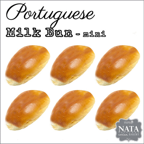 Mini Milk Bun (6pcs)