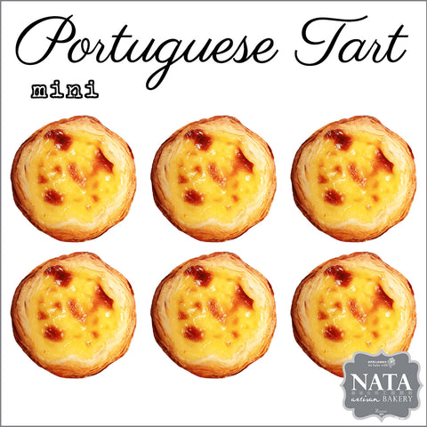 Mini Portuguese Tart  (6 pcs.)