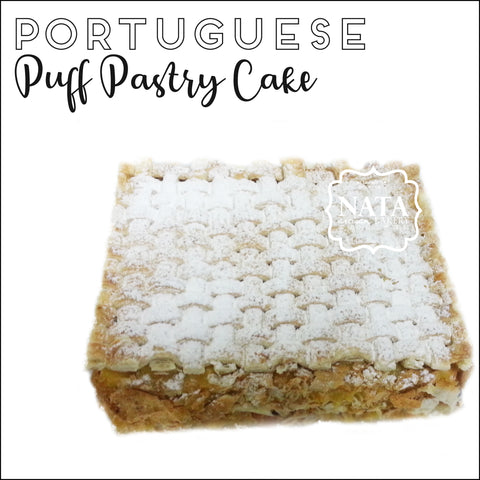 Layer Cake - Portuguese Puff Pastry Cake  葡式蛋糕