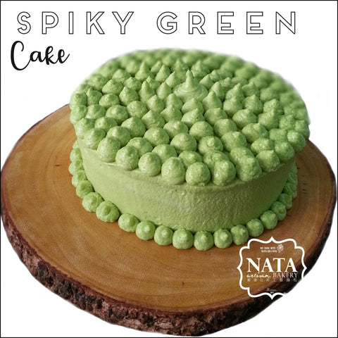 Cake - Spiky Green