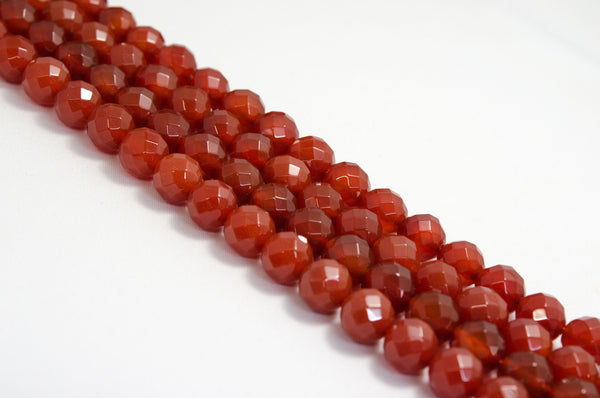 赤めのう 丸カット 12mm Red Agate Round Cut 12mm