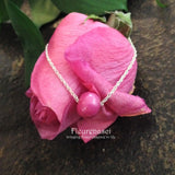 1N-1B Flower Bead Sterling Silver Necklace ~ Custom Order ~ Order Form Required