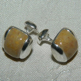 2MA Sterling Silver 18 x 14 Inlay Cuff Links ~ Custom Order ~ Order Form Required