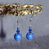 3ER Sterling Silver Earrings with Swarovski Crystal ~ Custom Order ~ Order Form Required