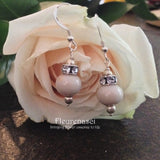4ER Sterling Silver Earrings with Specialty Crystal ~ Custom Order ~ Order Form Required