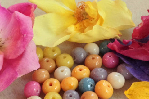 8mm Flower Petal Bead ~ Custom Order ~ Order Form Required