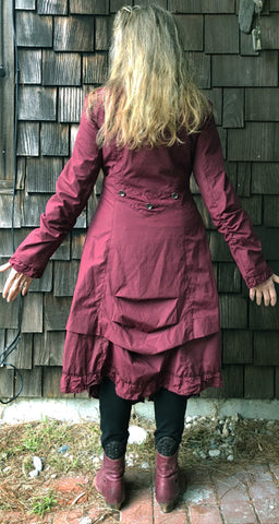 Dress Coat Dark Red