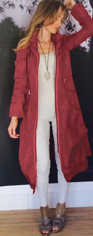 Dress Coat Deep Fuschia