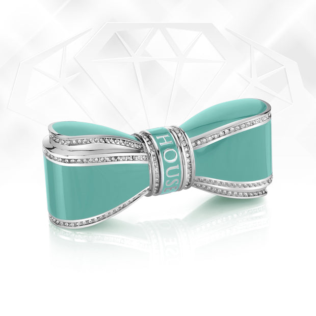 Bow Lipstick Case - Teal - By House Of Sillage