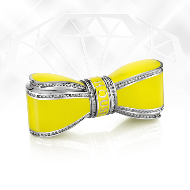 Bow Lipstick Case - Yellow - By House Of Sillage