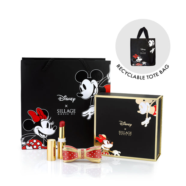 Minnie Mouse The Bow Lipstick Case Set - Disney x House of Sillage