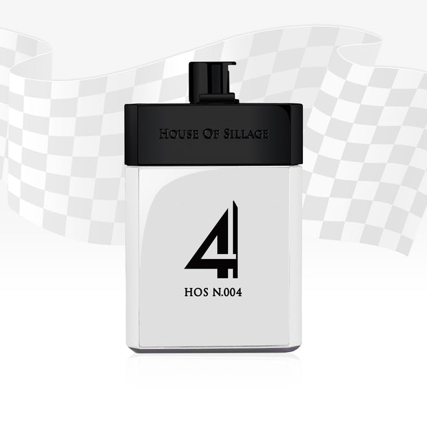 HOS N.004 - Luxury Men's Parfum - By House Of Sillage