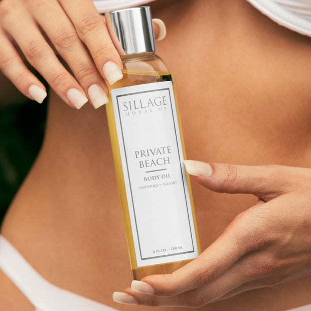 Private Beach Body Oil