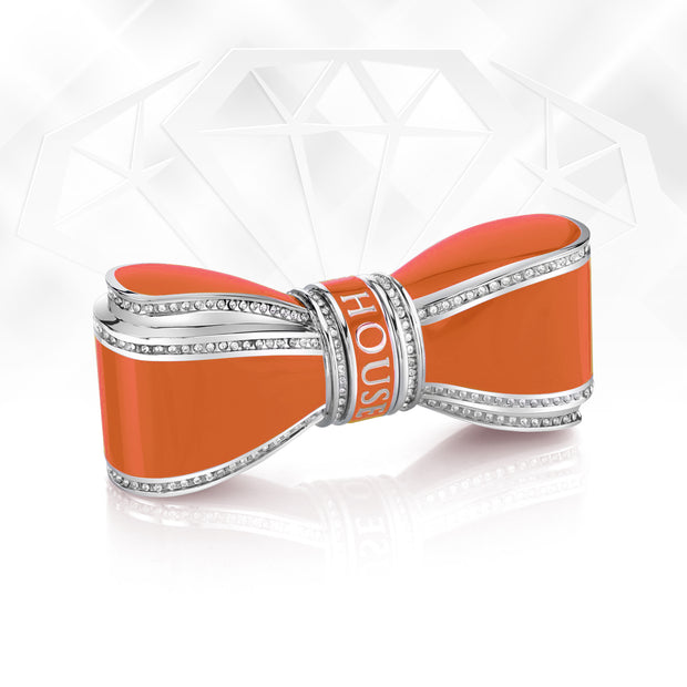 Bow Lipstick Case - Orange