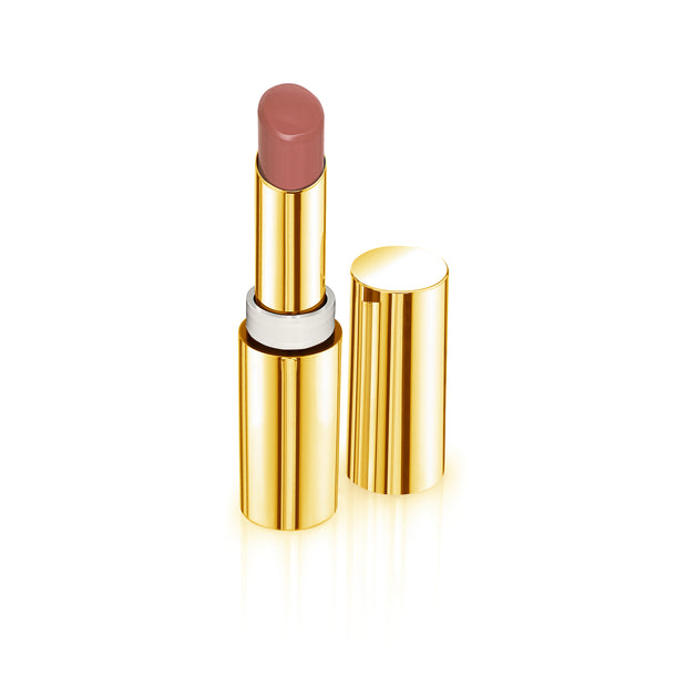 Diamond Powder Satin Lipstick Nudes Collection (Yellow Gold) - The Bombshell