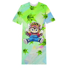 Arale  long T-shirt