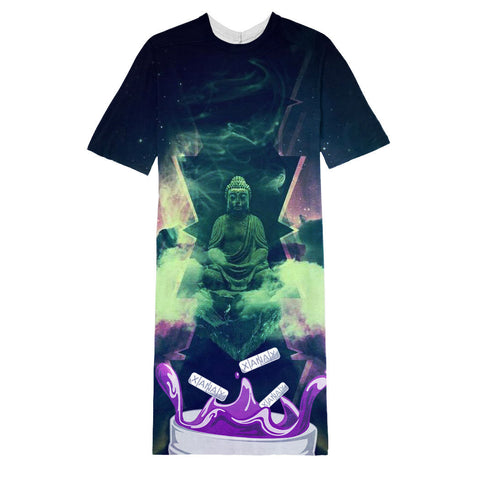 Budda long T-shirt