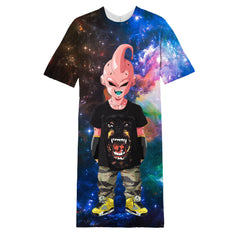 Cartoon long T-shirt